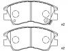 Brake Pad Set:MB 500 812